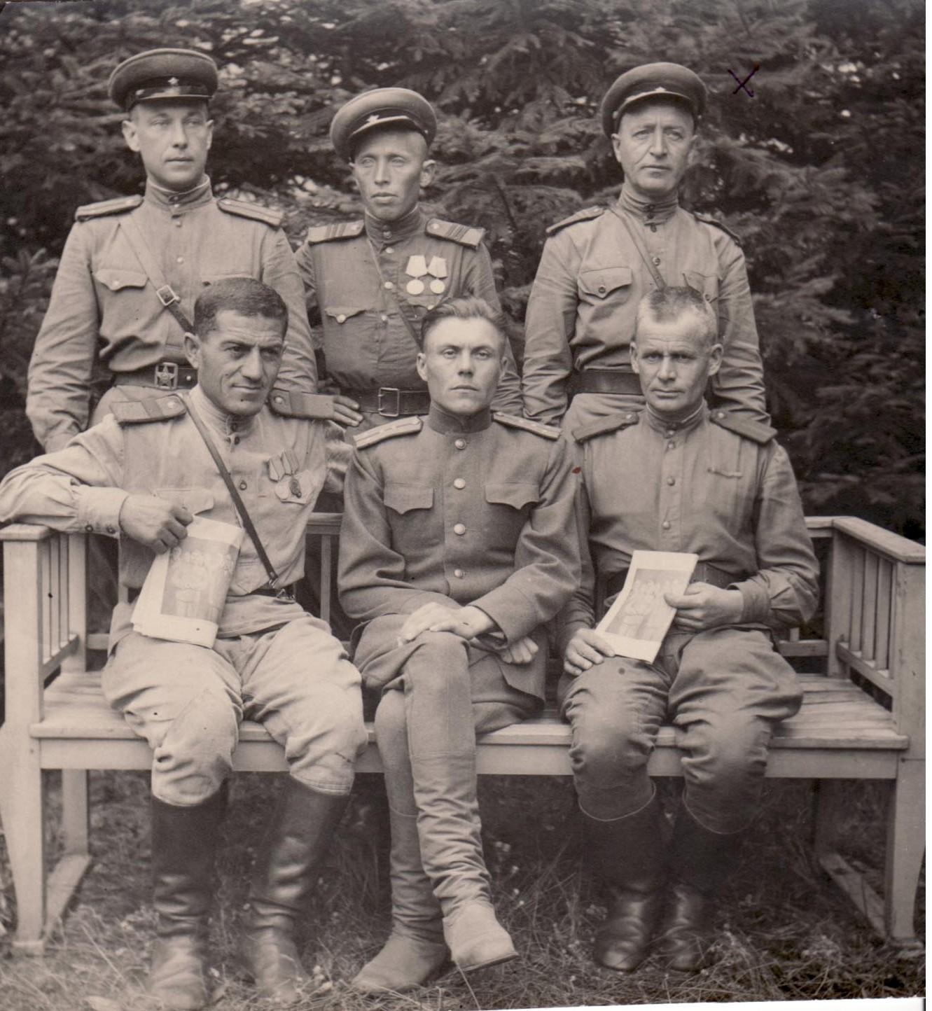 Лысенко Василий Тимофеевич 1945 Берлин