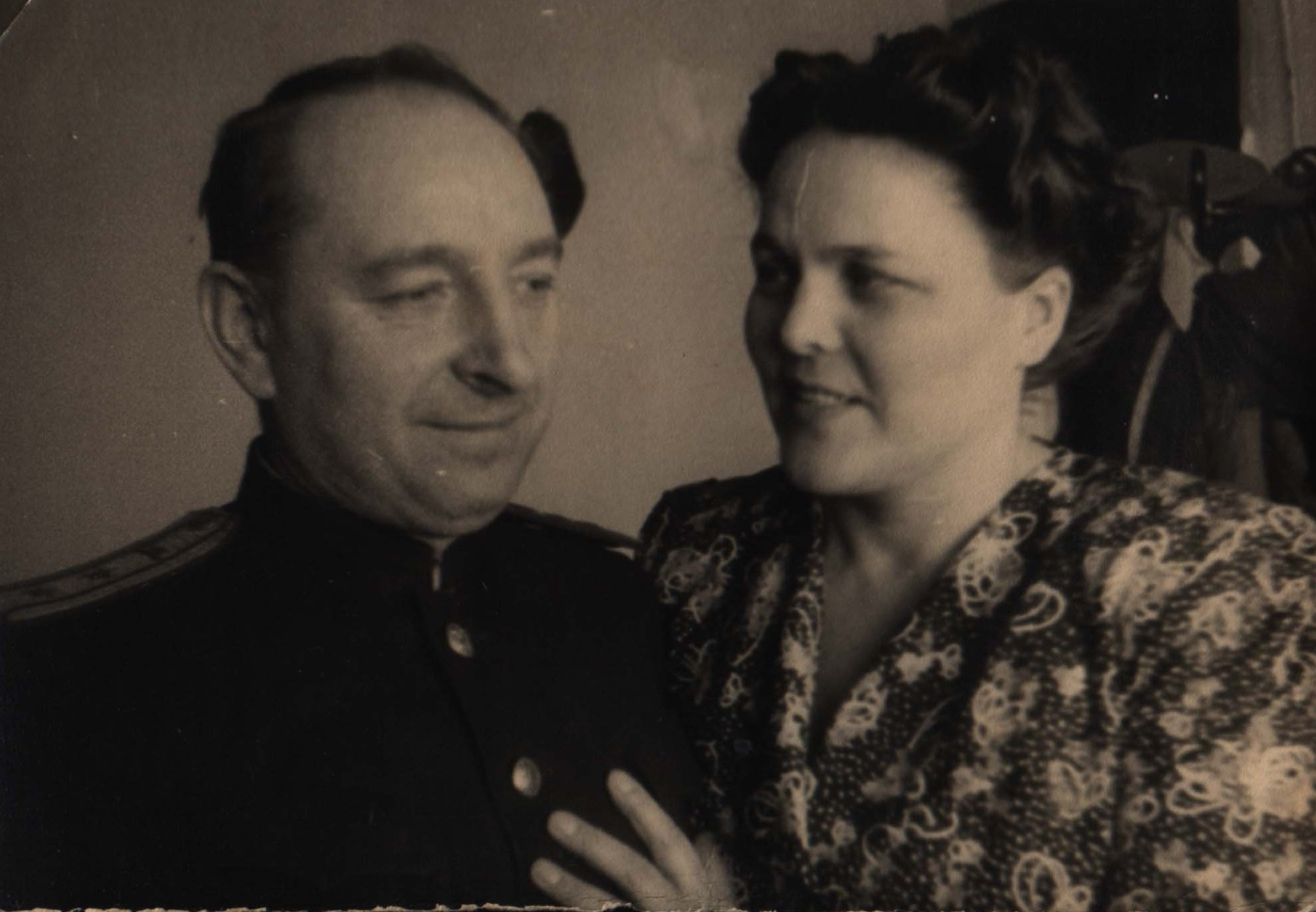 Лысенко Павел Тимофеевич и его жена Лысенко (Филиппова) Полина Григорьевна